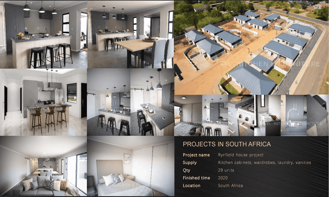 PROJECTS IN SOUTH AFRICA
