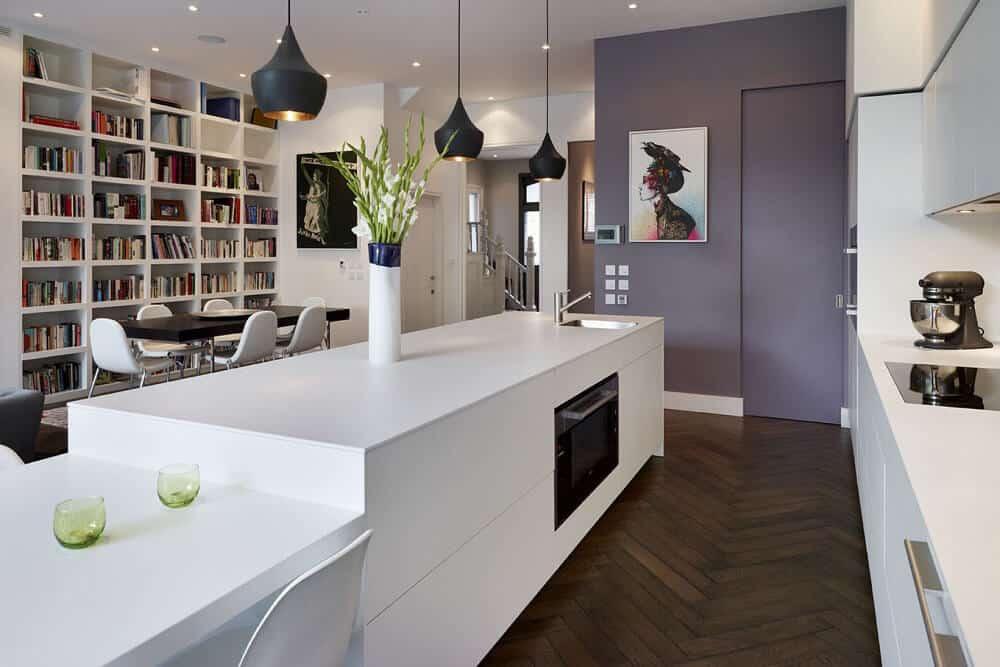 Modern Acrylic Kitchen Cabinets