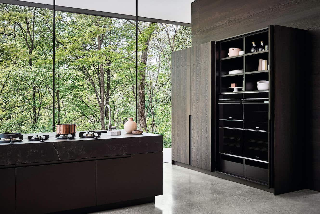 China Solid Wood Kitchen Cabinets 7