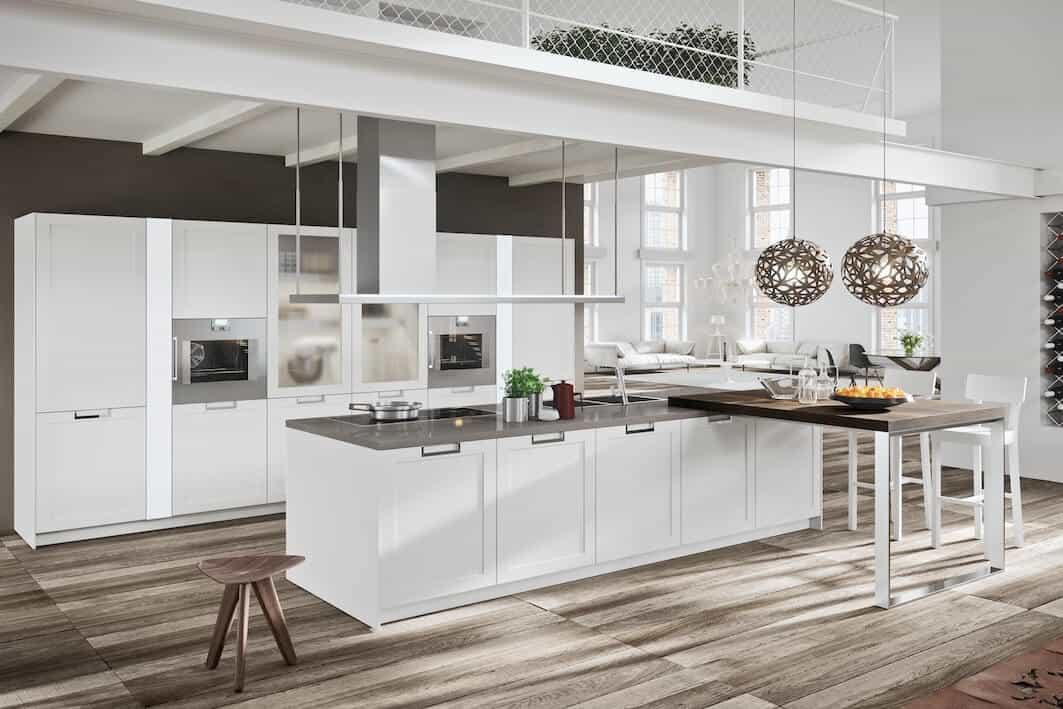 High Gloss Kitchen Cabinets