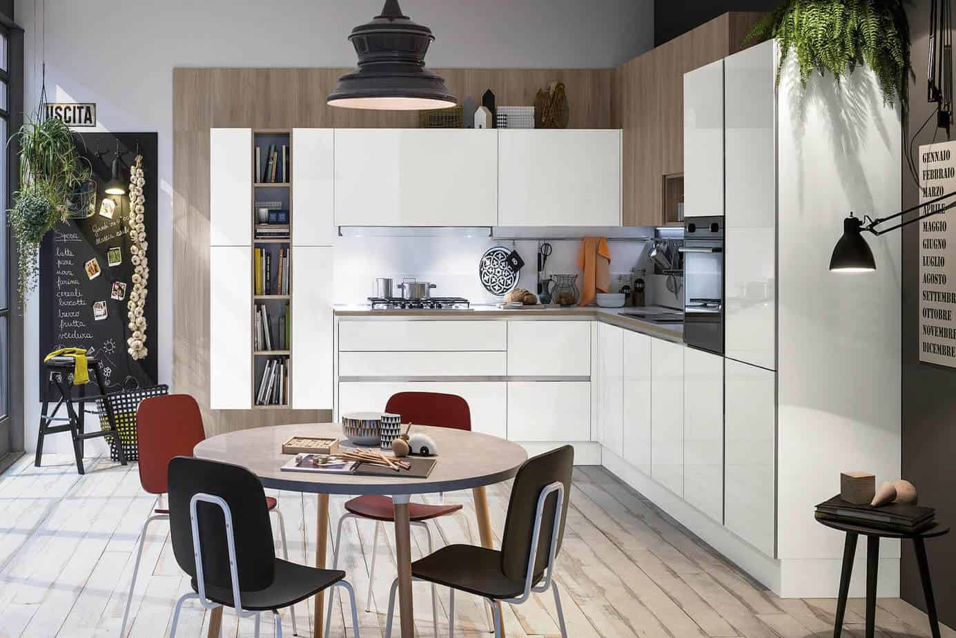 Modern High Gloss Kitchen Cabinets