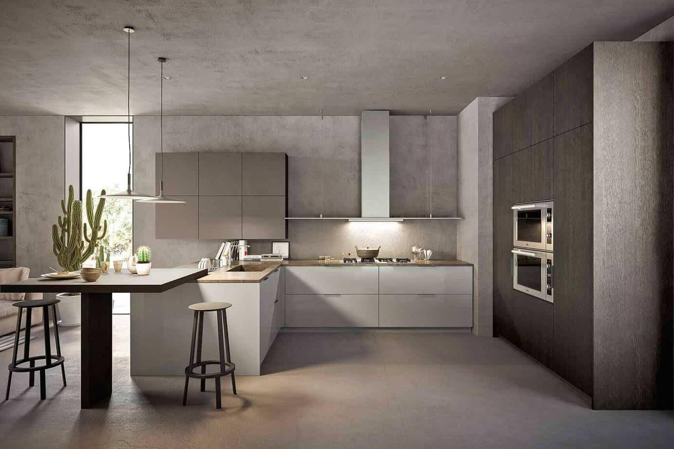 Oak Kitchen Cabinets 1