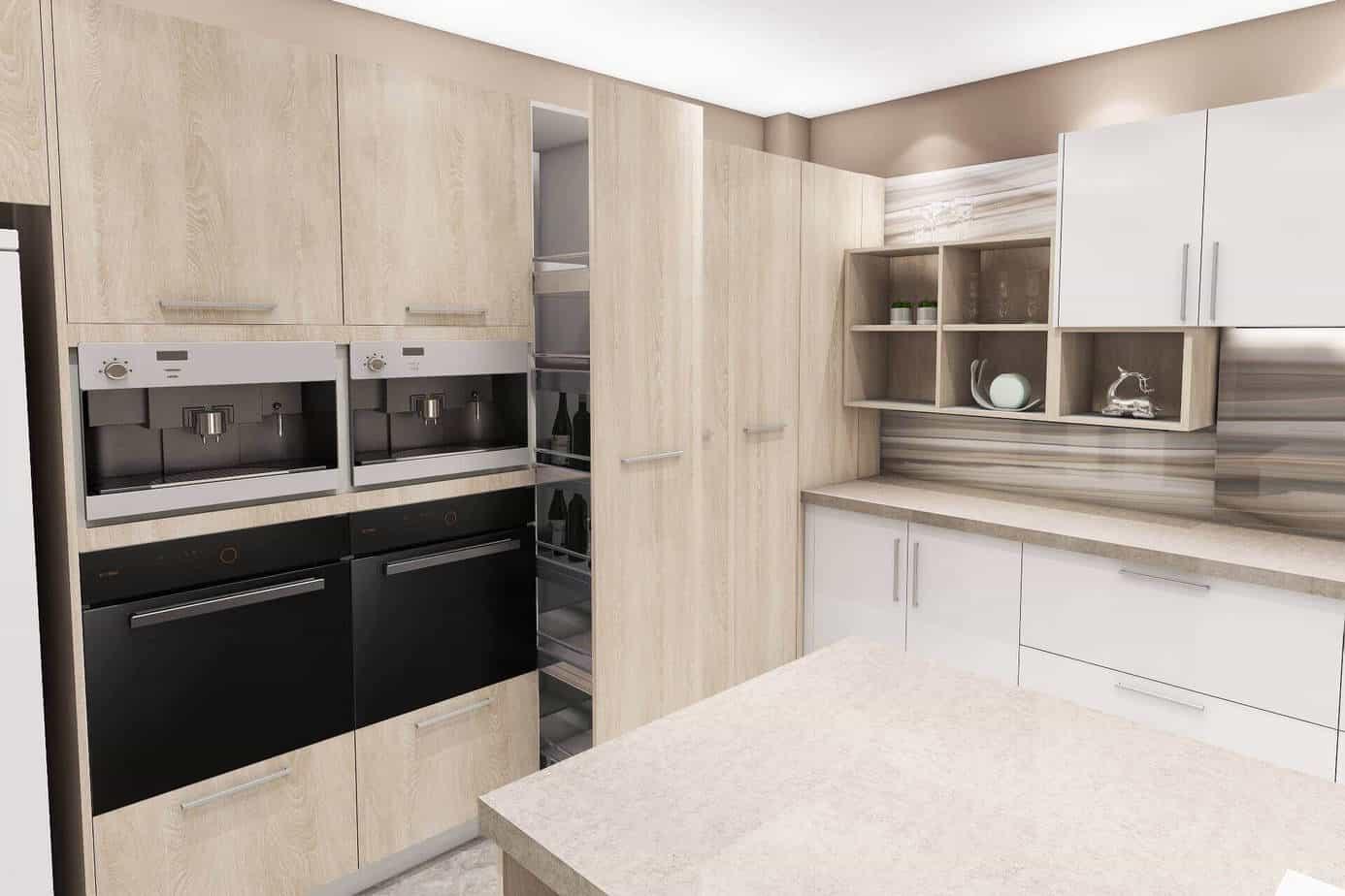 Oak Kitchen Cabinets 3