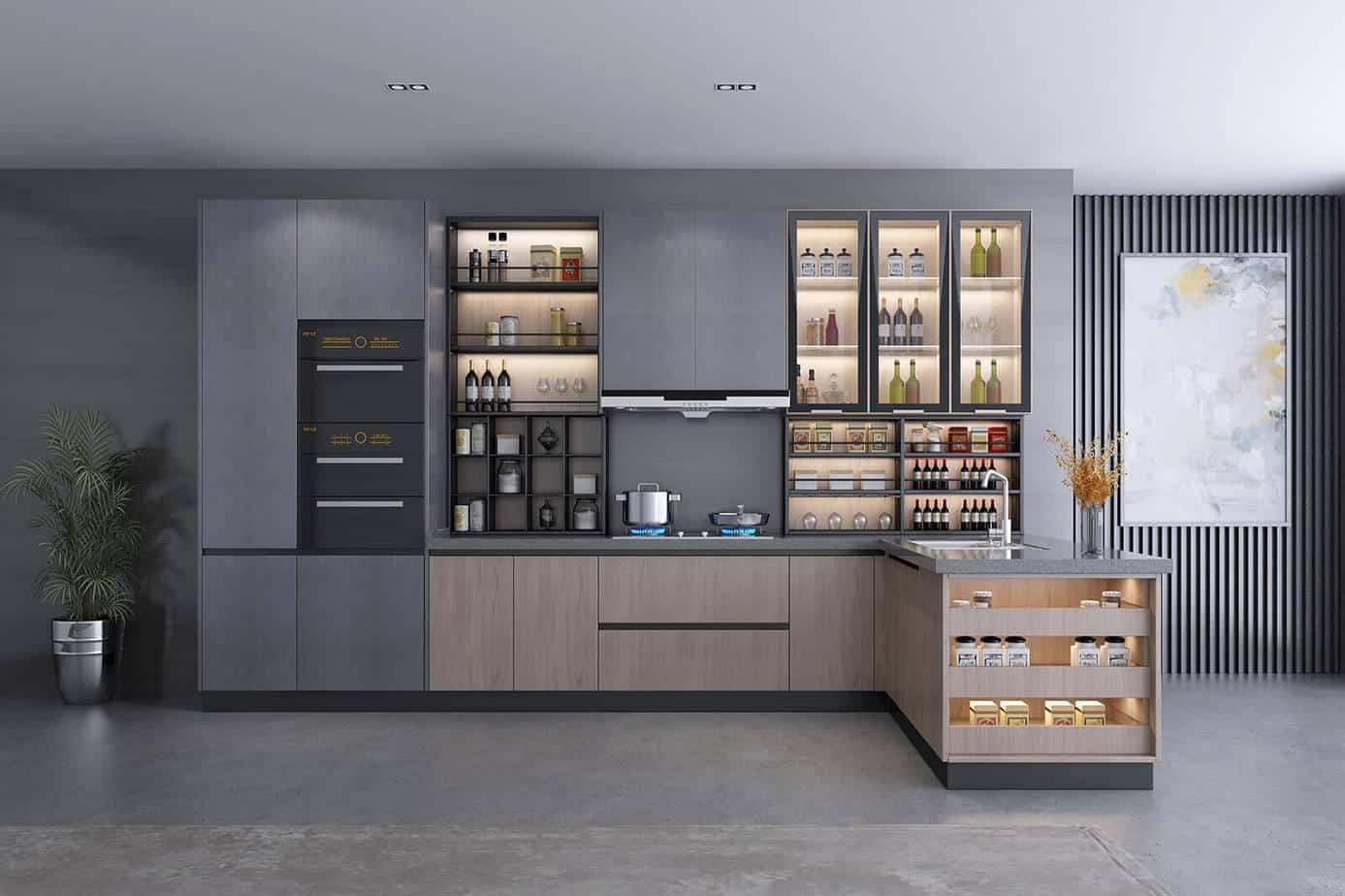 Oak Kitchen Cabinets 5