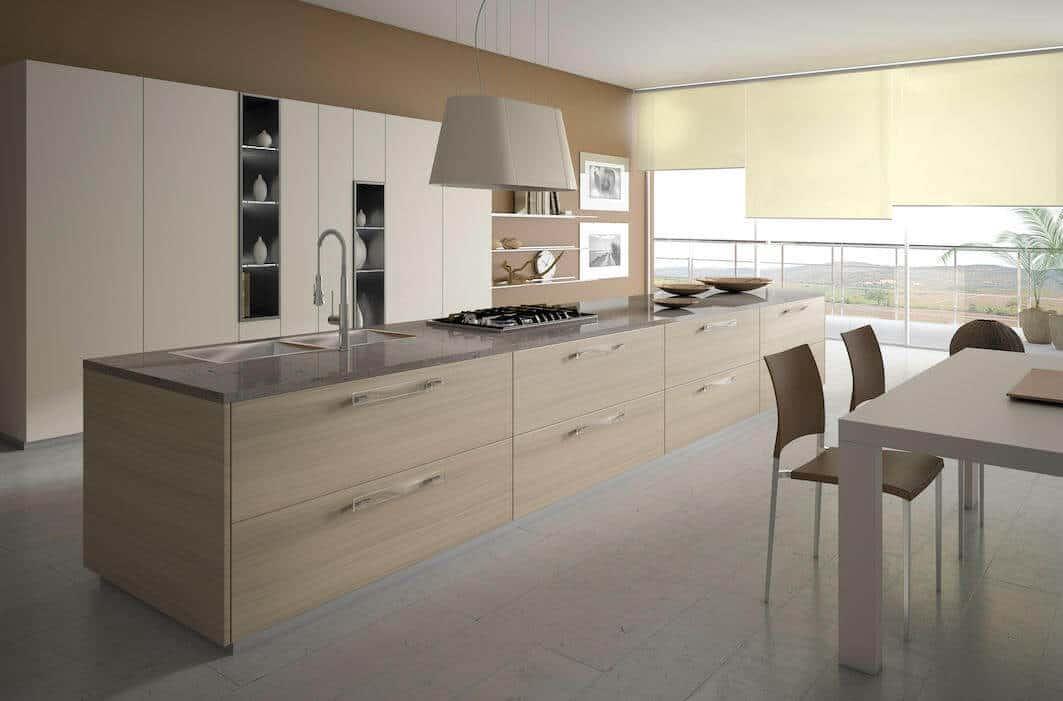 Oak Kitchen Cabinets 7