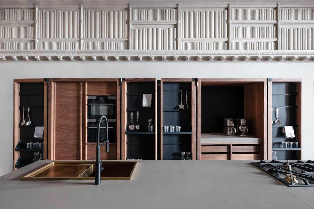 Rustic Oak Kitchen Cabinets