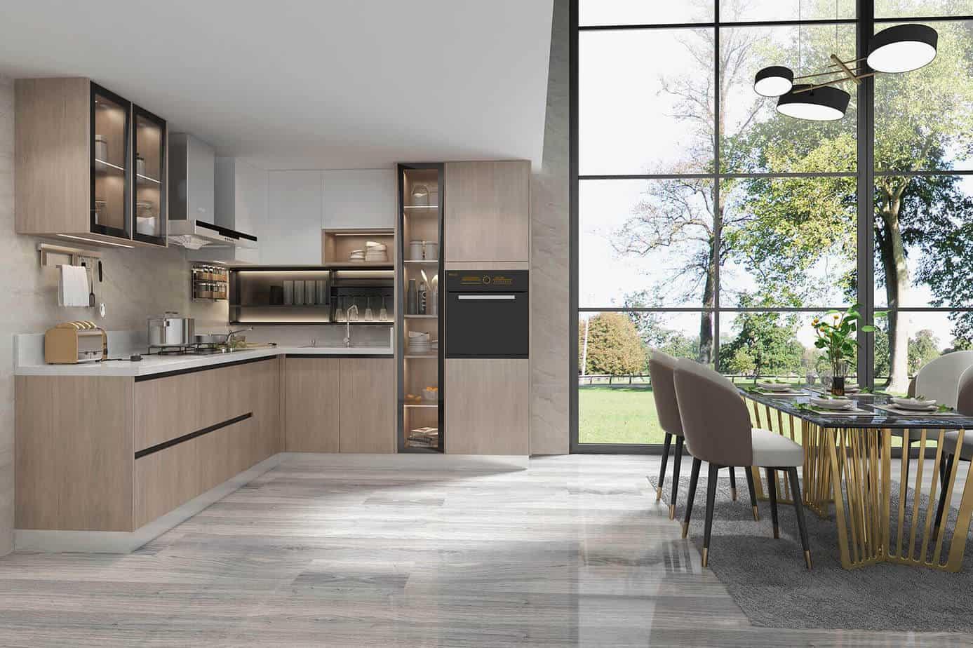 Melamine Kitchen Cabinets
