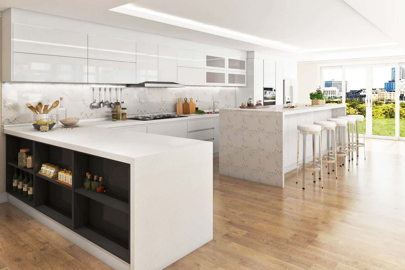 Water-Based Lacquer for Kitchen Cabinets