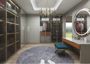 Modern built-in wardrobes